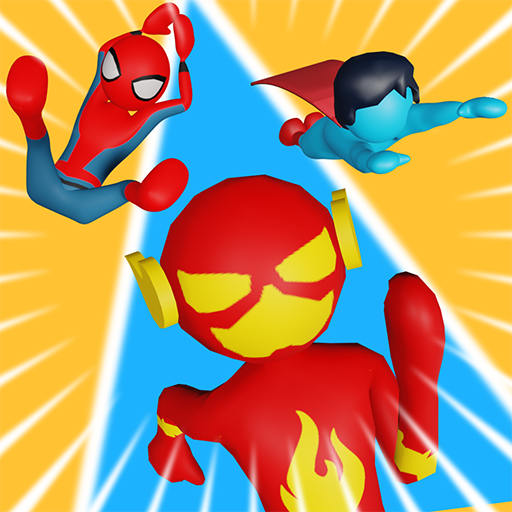 Superhero Race!  1.92 (Unlimited money,Mod) for Android