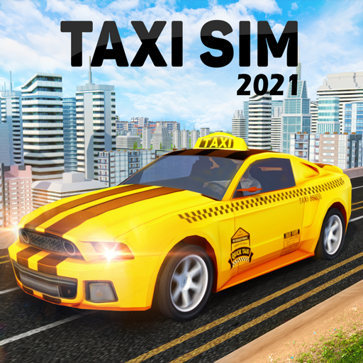 Taxi Simulator : Modern Taxi Games 2021  (Unlimited money,Mod) for Android