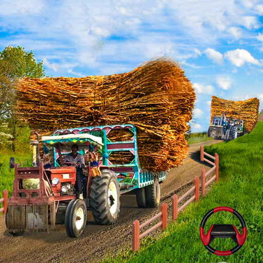 Tractor Trolley Driving Farming Simulator 3D Games (Unlimited money,Mod) for Android