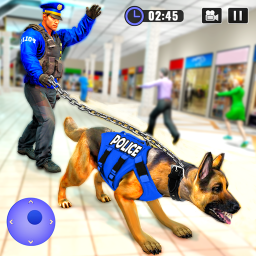 US Police Dog Shopping Mall Crime Chase 2021  4.1 (Unlimited money,Mod) for Android