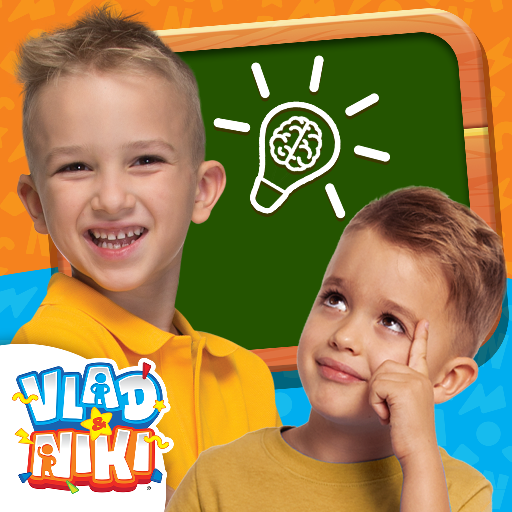 Vlad and Niki – Smart Games  (Unlimited money,Mod) for Android
