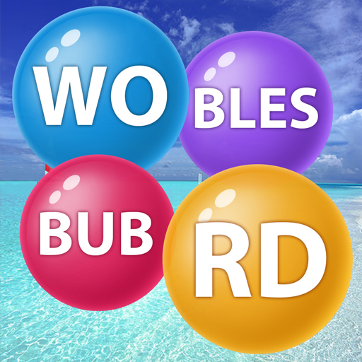 Word Serene Bubbles  (Unlimited money,Mod) for Android