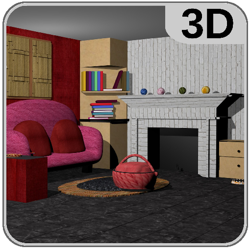 3D Room Escape-Puzzle Livingroom 4  (Unlimited money,Mod) for Android