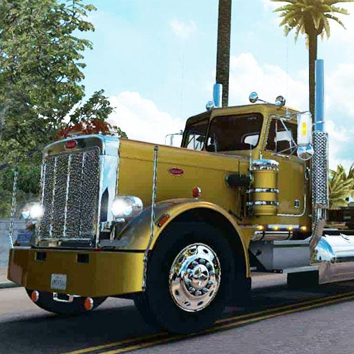 American Truck Real Driving Cargo Simulator 2021  2 (Unlimited money,Mod) for Android