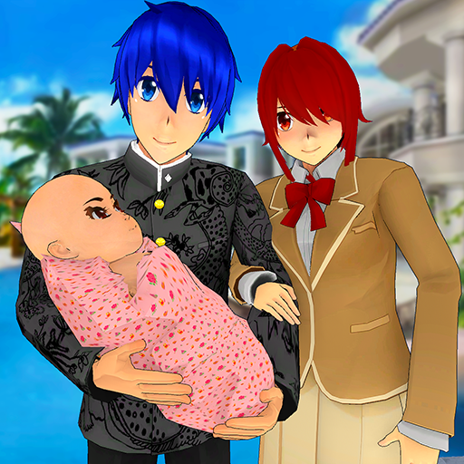Anime Family Simulator: Pregnant Mother Games 2021  (Unlimited money,Mod) for Android