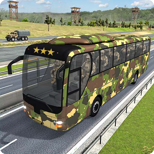 Army Bus Transporter Simulator 2020  (Unlimited money,Mod) for Android