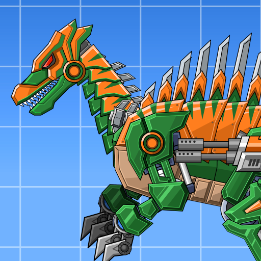Assemble Robot War Spinosaurus  (Unlimited money,Mod) for Android