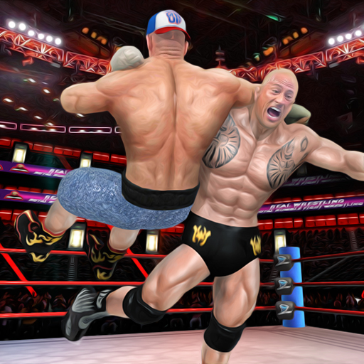 BodyBuilder Ring Fighting Club: Wrestling Games  (Unlimited money,Mod) for Android