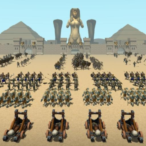 CLASH OF MUMMIES: PHARAOH RTS  (Unlimited money,Mod) for Android