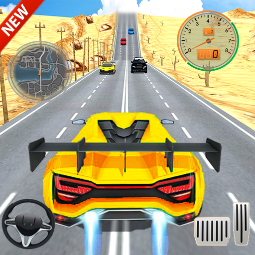 Car Racing in Fast Highway Traffic  (Unlimited money,Mod) for Android