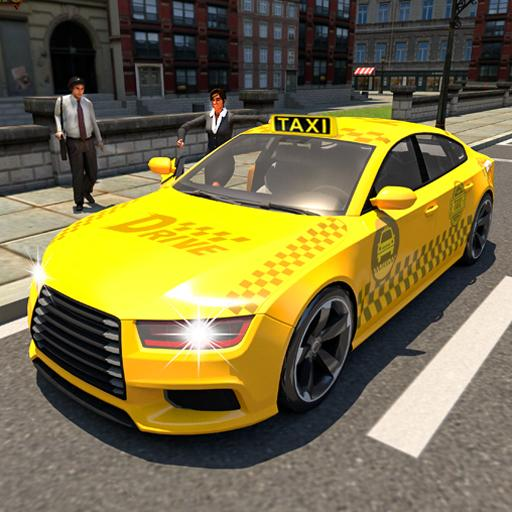 City Taxi Car Tour – Taxi Cab Driving Game  (Unlimited money,Mod) for Android