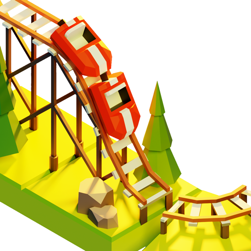Coaster Builder: Roller Coaster 3D Puzzle Game  (Unlimited money,Mod) for Android
