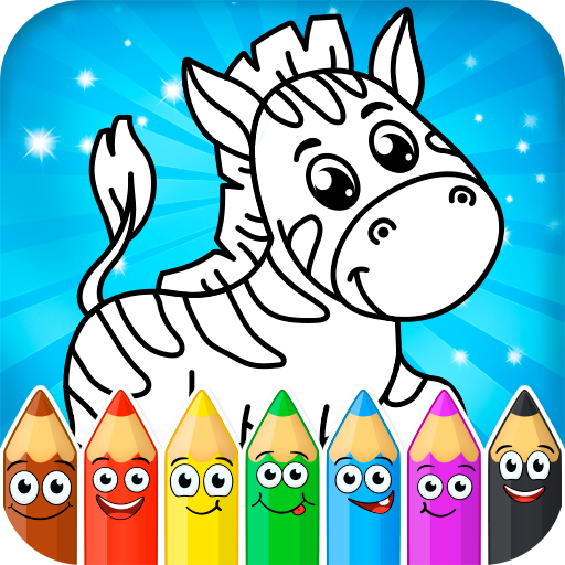 Coloring pages for children: animals  (Unlimited money,Mod) for Android