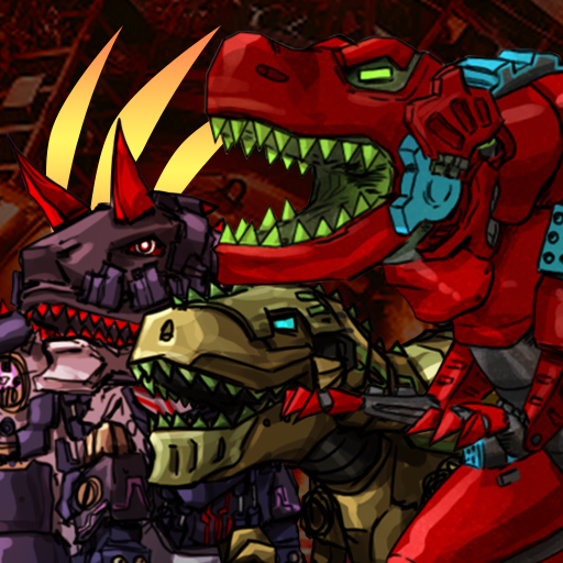 Dino Robot Battle Field – Armoured Dinosaurs War  (Unlimited money,Mod) for Android