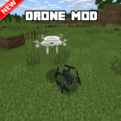 Drone Mod For Minecraft PE  (Unlimited money,Mod) for Android