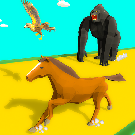 Epic Animal Dash Run 3D: Hop and Smash  (Unlimited money,Mod) for Android