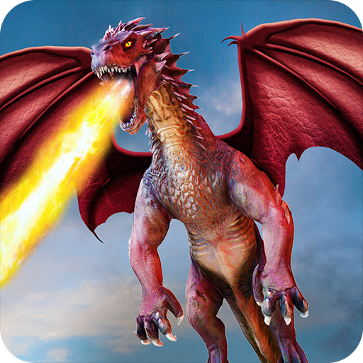 Flying Dragon Battle Simulator : City Attack  (Unlimited money,Mod) for Android