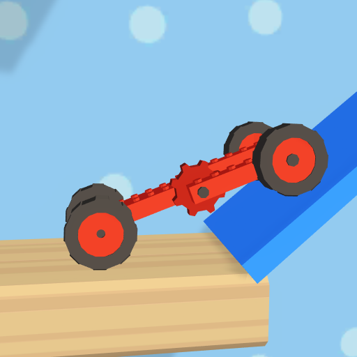 Folding Car puzzle games: fun racing car simulator  (Unlimited money,Mod) for Android
