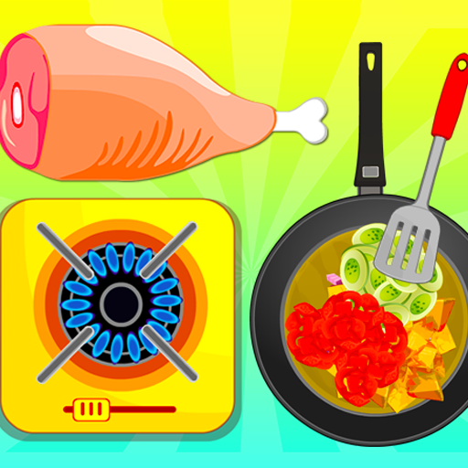 Fried Veg Chicken Salad – Cooking Game  (Unlimited money,Mod) for Android