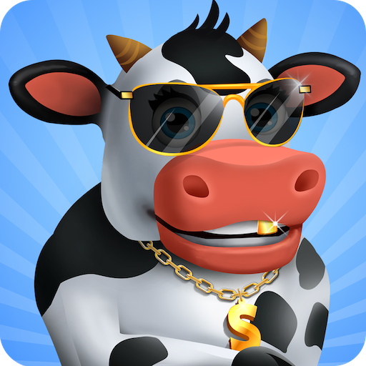 Idle Cow Clicker Games: Idle Tycoon Games Offline  (Unlimited money,Mod) for Android