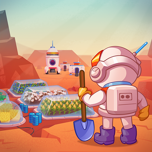Idle Mars Colony: Clicker farmer tycoon  (Unlimited money,Mod) for Android