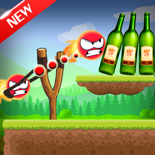 Knock Down Bottles 321 :Ball Hit Cans & Shoot Down  (Unlimited money,Mod) for Android