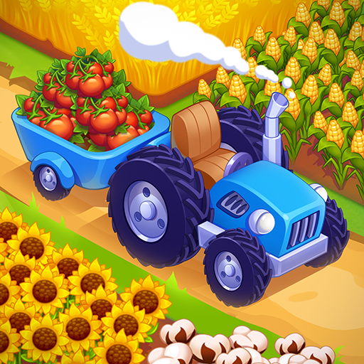 Mega Farm — Idle Tycoon Clicker & Merge Simulator  (Unlimited money,Mod) for Android