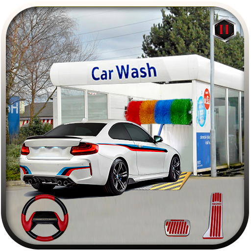 Modern Car Wash: Car Mechanic & Car Parking Games  (Unlimited money,Mod) for Android