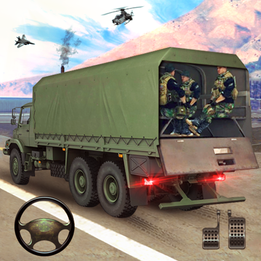 New Army Truck simulator: Free Driving Games 2021  (Unlimited money,Mod) for Android