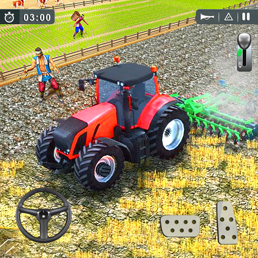 Real Tractor Job Simulator 1892 – village  (Unlimited money,Mod) for Android