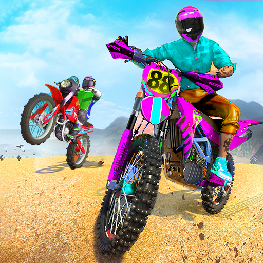 Sky Bike Stunt Master : Free Offline Racing Game  (Unlimited money,Mod) for Android
