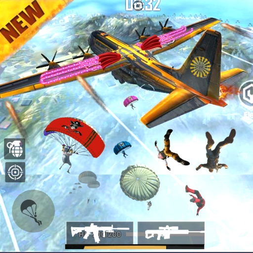 Squad Survival freefire Game Battleground Shooter  (Unlimited money,Mod) for Android