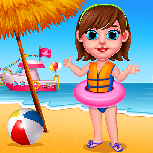 Summer Beach Girl : Fun Activity  (Unlimited money,Mod) for Android
