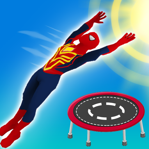Superhero Flip Jump:Spider Sky  (Unlimited money,Mod) for Android