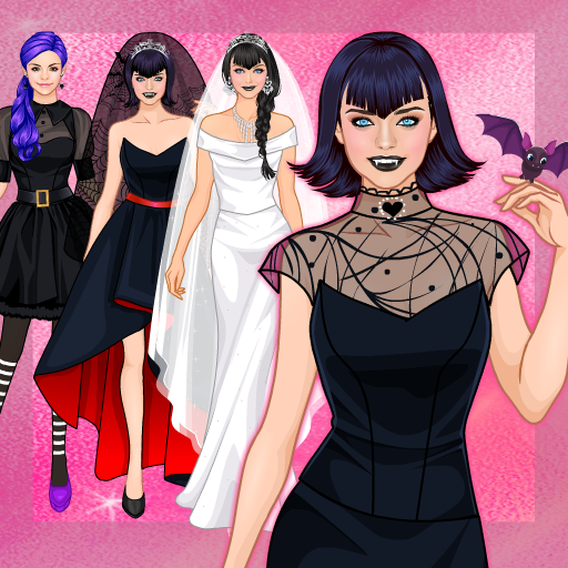 Sweet Vampire Wedding dress up  (Unlimited money,Mod) for Android