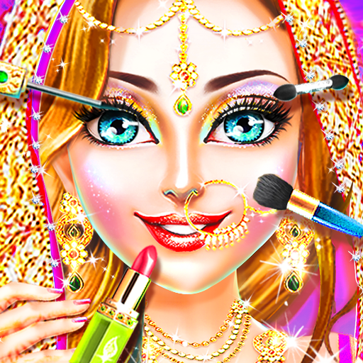 Traditional Wedding Salon – Makeup & Dress up Game  (Unlimited money,Mod) for Android