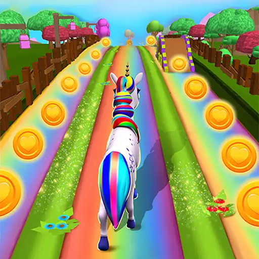 Unicorn Run – Fast & Endless Runner Games 2021  (Unlimited money,Mod) for Android
