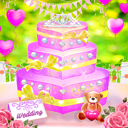Wedding Cake Shop – Cook Bake & Design Sweet Cakes  (Unlimited money,Mod) for Android