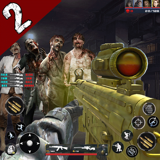 Zombie Hunter 3D: Offline FPS Shooting Game 2021  (Unlimited money,Mod) for Android