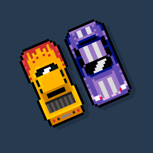 8Bit Highway: Retro Arcade Endless Racing  (Unlimited money,Mod) for Android