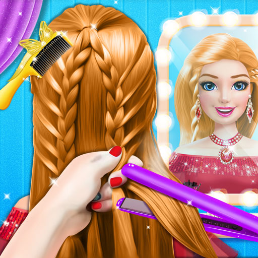Braided Hairstyle Salon: Make Up And Dress Up  (Unlimited money,Mod) for Android