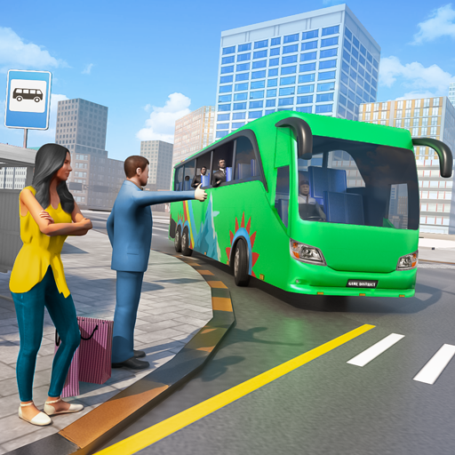 City Coach Bus Simulator 3D  (Unlimited money,Mod) for Android