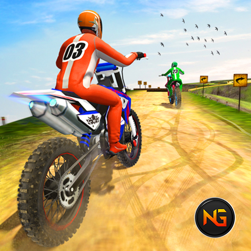 Dirt Bike Racing Games: Offroad Bike Race 3D  (Unlimited money,Mod) for Android