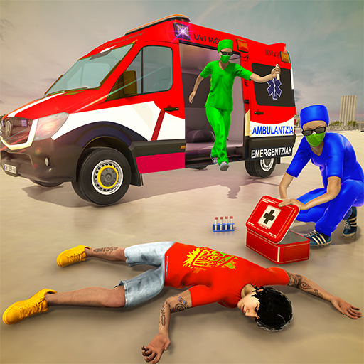 Emergency Superhero Rescue Mission-Ambulance Games  (Unlimited money,Mod) for Android