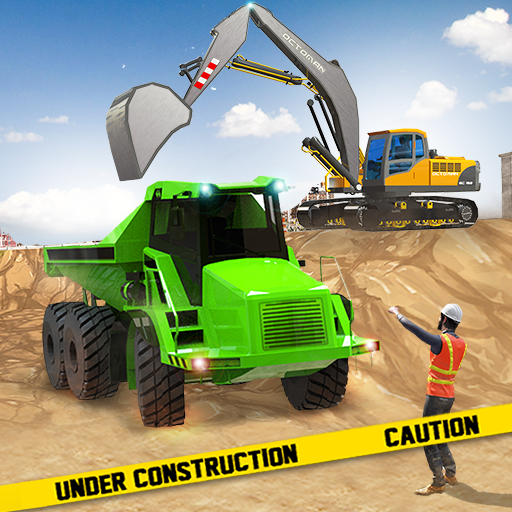 Excavator Construction Simulator: Truck Games 2021  (Unlimited money,Mod) for Android
