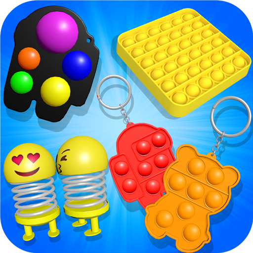 Fidget Toys Pop It Anti stress and Calming Games  (Unlimited money,Mod) for Android