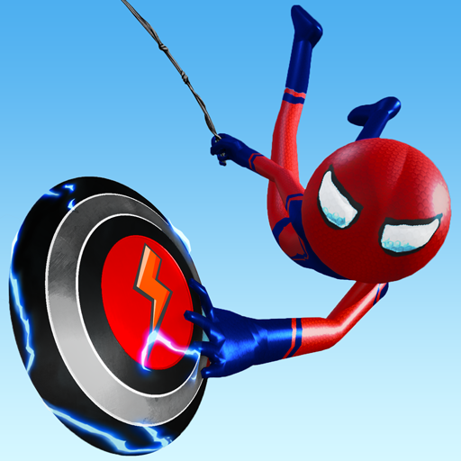 Flying Stickman Rope Hero  (Unlimited money,Mod) for Android