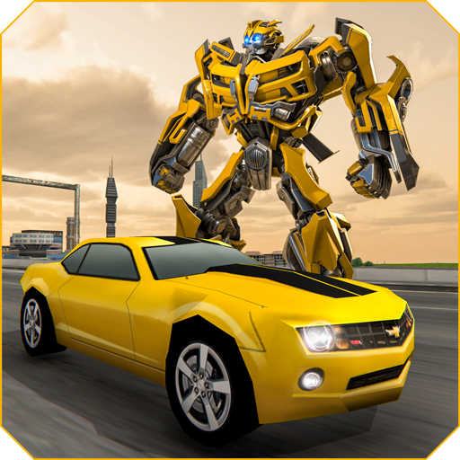 Grand Shooting Robot Transform Car 2019  (Unlimited money,Mod) for Android