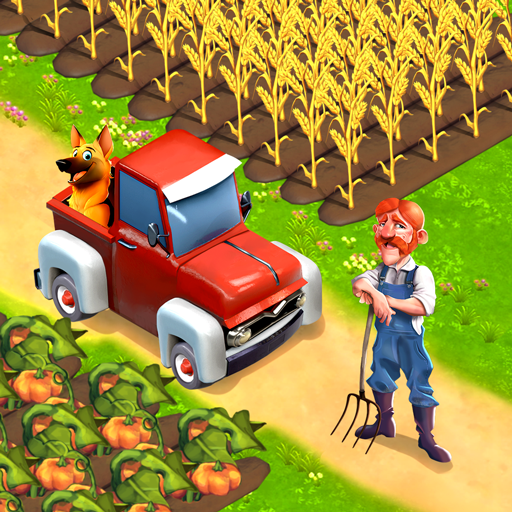 Happy Town Farm Games – Farming & City Building  (Unlimited money,Mod) for Android