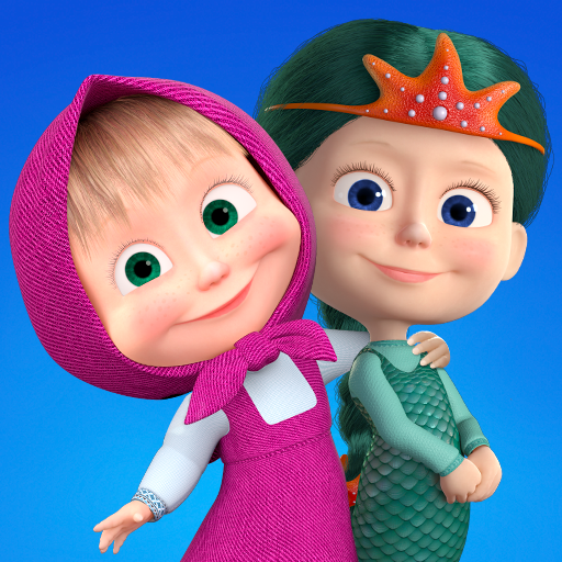 Masha and the Bear: Kids Learning games for free  1.0.38 (Unlimited money,Mod) for Android
